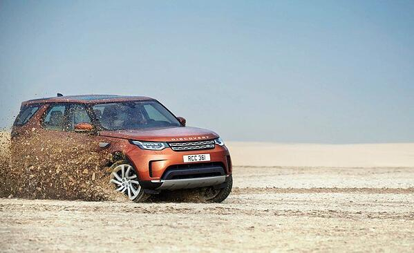 land rover discovery sand